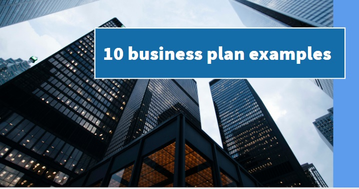 10 business plan examples